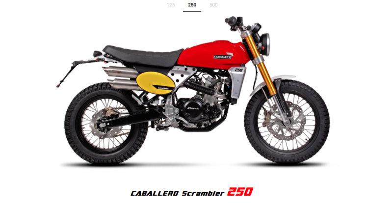 CABALLERO-SCRAMBLER