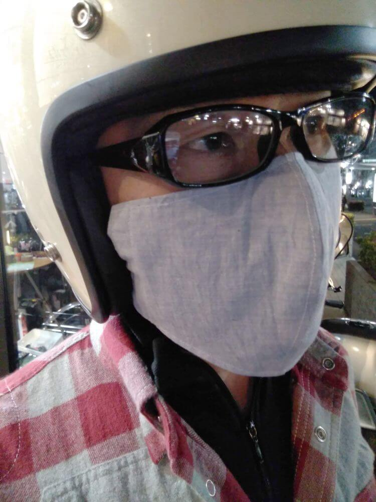 3D布マスク フェイスガード