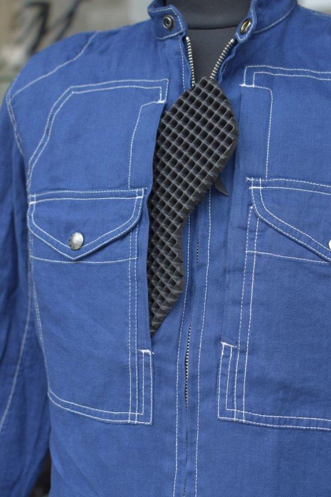 プロテクトリネンシャツ