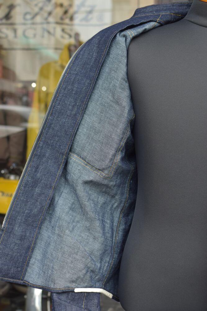 マックスフリッツ MFS-2333 プロテクト綿麻デニムシャツ