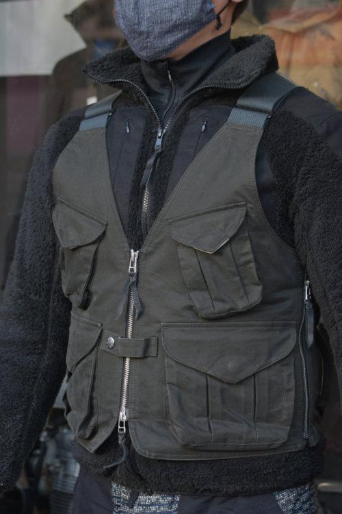 オーバーベスト&プロテクトフリースジャケット