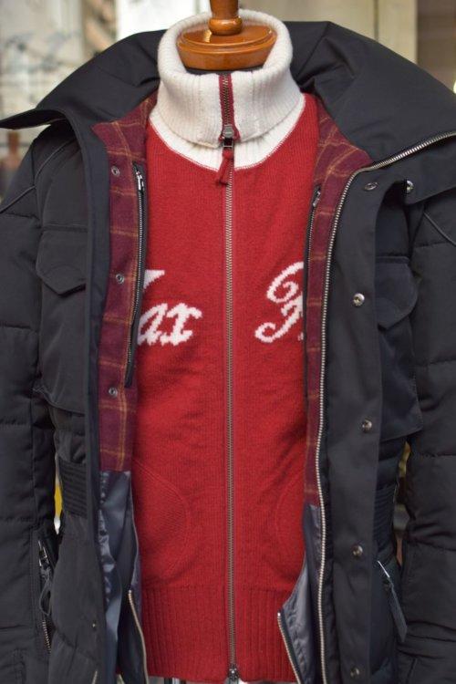 ウィンタリングダウンジャケット&クラブマンジップアップセーター