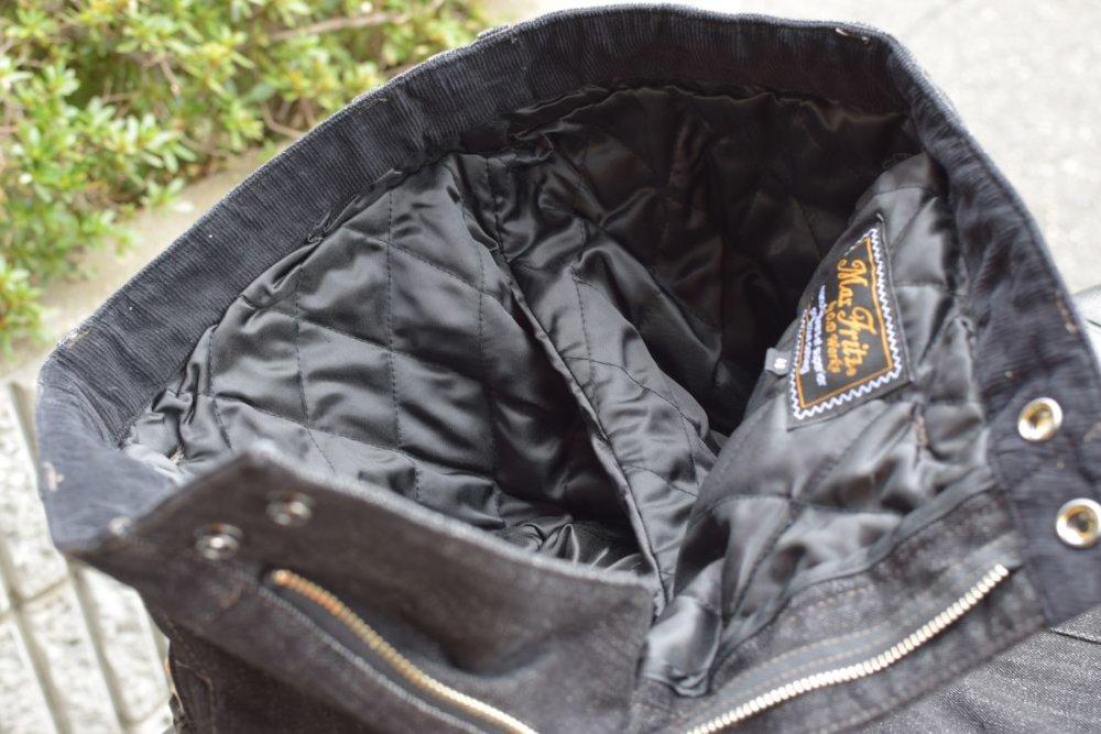 MaxFritz ウォームスクランブラーパンツ ブラック03