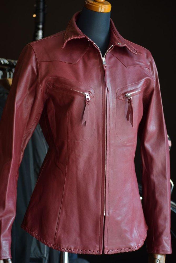 MFS-2154 シープレザーシャツ