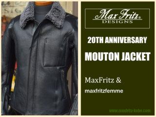 MaxFritz「マックスフリッツ・20周年アニバーサリームートンジャケット」