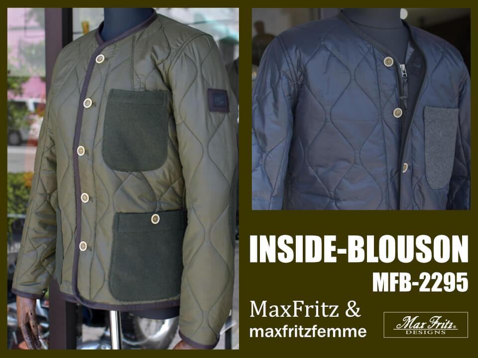 マックスフリッツ インナーブルゾン MFB-2295